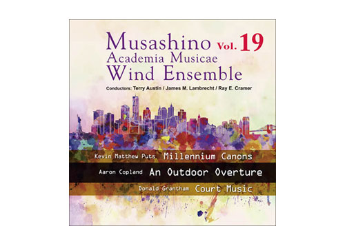 [CD] Musashino Academia Musicae Wind Ensemble Vol.19