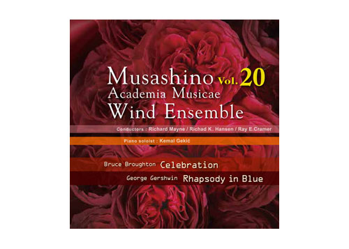 [CD] Musashino Academia Musicae Wind Ensemble Vol.20