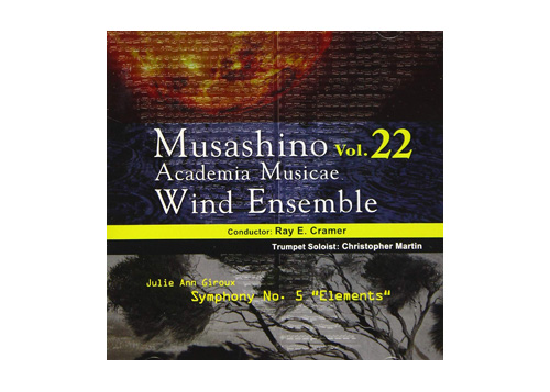 [CD] Musashino Academia Musicae Wind Ensemble Vol.22