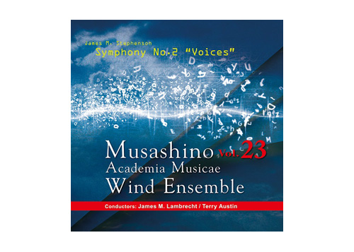 [CD] Musashino Academia Musicae Wind Ensemble Vol.23