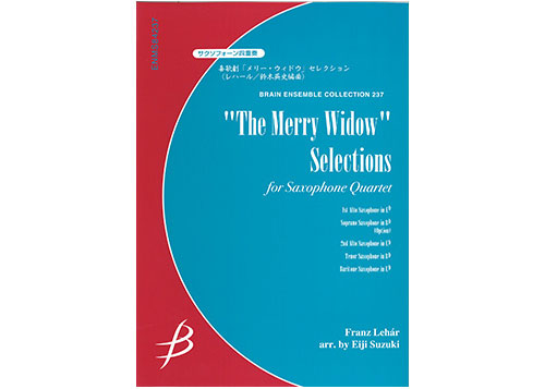 The Merry Widow Selections - Saxophone Quartet