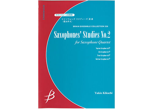 Saxophones' Studies No.2 for Quartet