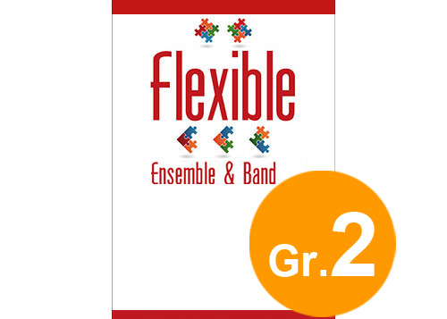 Flower Crown - Flexible 5 Parts & Optional Percussion