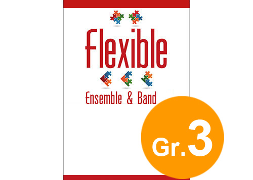 Marche Militaire - Flexible 4 Parts & Optional Percussion