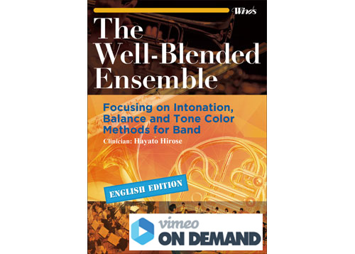 The Well-Blended Ensemble [Vimeo on Demand]